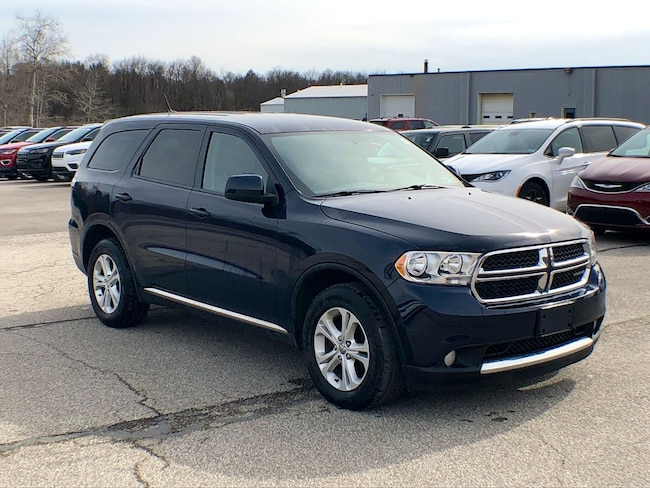 Used 2013 Dodge Durango SXT SUV for sale in Corry, PA at DAVID Corry Chrysler Dodge Jeep Ram