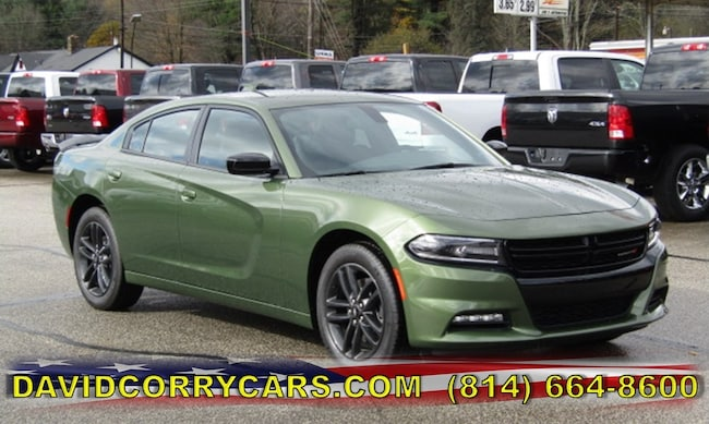 New 2019 Dodge Charger SXT AWD Sedan for sale in Corry, PA at DAVID Corry Chrysler Dodge Jeep Ram