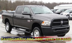 2018 Ram 2500 TRADESMAN CREW CAB 4X4 6'4 BOX Crew Cab for sale in Corry, PA at DAVID Corry Chrysler Dodge Jeep Ram