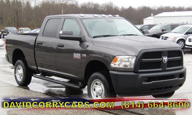 New 2018 Ram 2500 TRADESMAN CREW CAB 4X4 6'4 BOX Crew Cab for sale in Corry, PA at DAVID Corry Chrysler Dodge Jeep Ram