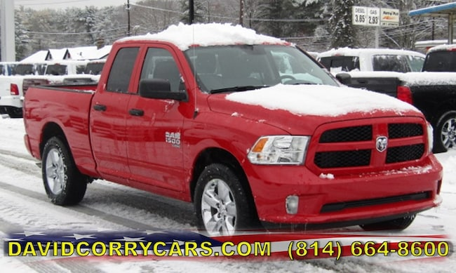 New 2019 Ram 1500 CLASSIC EXPRESS QUAD CAB 4X4 6'4 BOX Quad Cab for sale in Corry, PA at DAVID Corry Chrysler Dodge Jeep Ram