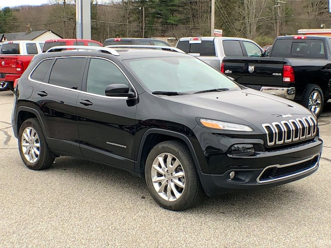 Used 2016 Jeep Cherokee Limited SUV for sale in Corry, PA at DAVID Corry Chrysler Dodge Jeep Ram