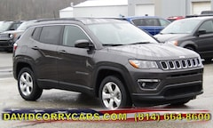 2019 Jeep Compass LATITUDE 4X4 Sport Utility for sale in Corry, PA at DAVID Corry Chrysler Dodge Jeep Ram