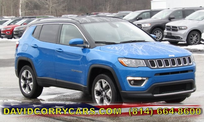New 2019 Jeep Compass LIMITED 4X4 Sport Utility for sale in Corry, PA at DAVID Corry Chrysler Dodge Jeep Ram