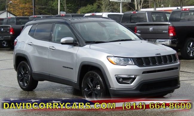 New 2019 Jeep Compass ALTITUDE 4X4 Sport Utility for sale in Corry, PA at DAVID Corry Chrysler Dodge Jeep Ram