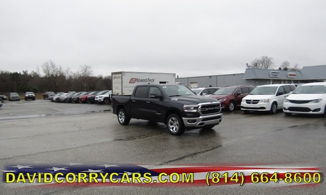 New 2019 Ram 1500 BIG HORN / LONE STAR CREW CAB 4X4 5'7 BOX Crew Cab for sale in Corry, PA at DAVID Corry Chrysler Dodge Jeep Ram