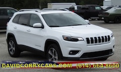 2019 Jeep Cherokee LIMITED 4X4 Sport Utility for sale in Corry, PA at DAVID Corry Chrysler Dodge Jeep Ram