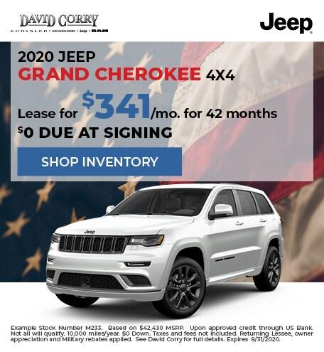 2020 Jeep Grand Cherokee 4x4