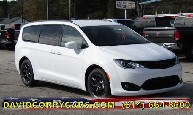 New 2019 Chrysler Pacifica TOURING L PLUS Passenger Van for sale in Corry, PA at DAVID Corry Chrysler Dodge Jeep Ram
