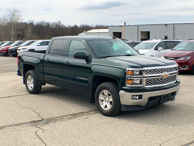 Used 2015 Chevrolet Silverado 1500 LT Truck Crew Cab for sale in Corry, PA at DAVID Corry Chrysler Dodge Jeep Ram
