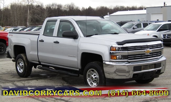 Used 2016 Chevrolet Silverado 2500HD Work Truck Truck for sale in Corry, PA at DAVID Corry Chrysler Dodge Jeep Ram