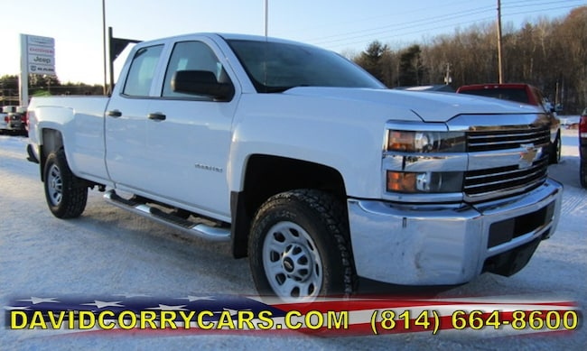 Used 2015 Chevrolet Silverado 2500HD Work Truck Truck for sale in Corry, PA at DAVID Corry Chrysler Dodge Jeep Ram