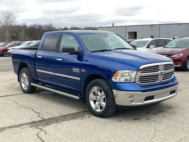 certified 2017 Ram 1500 Big Horn Truck Crew Cab for sale in Corry, PA at DAVID Corry Chrysler Dodge Jeep Ram