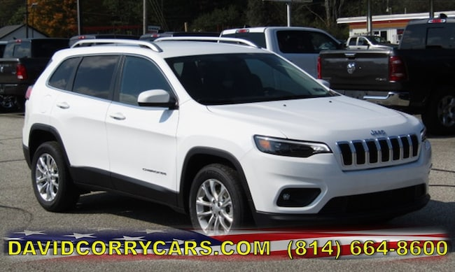 New 2019 Jeep Cherokee LATITUDE FWD Sport Utility for sale in Corry, PA at DAVID Corry Chrysler Dodge Jeep Ram