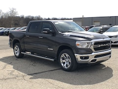 2019 Ram 1500 BIG HORN / LONE STAR CREW CAB 4X4 5'7 BOX Crew Cab 1C6SRFFT4KN765129 for sale in Corry, PA.