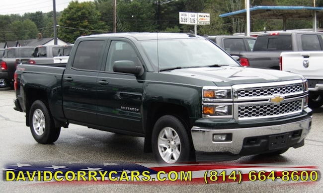 Used 2015 Chevrolet Silverado 1500 LT 4WD Crew Cab 143.5 LT w/1LT for sale in Corry, PA at DAVID Corry Chrysler Dodge Jeep Ram