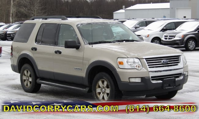 Used 2006 Ford Explorer XLT 114 WB 4.0L XLT 4WD for sale in Corry, PA at DAVID Corry Chrysler Dodge Jeep Ram