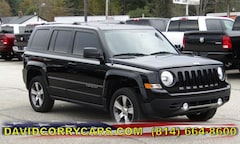 2016 Jeep Patriot High Altitude Edition 4WD  High Altitude Edition 1C4NJRFB7GD654299 for sale in Corry, PA at DAVID Corry Chrysler Dodge Jeep Ram