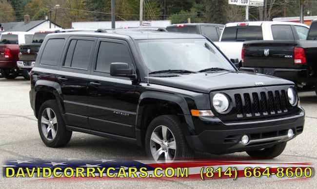 certified 2016 Jeep Patriot High Altitude Edition 4WD  High Altitude Edition for sale in Corry, PA at DAVID Corry Chrysler Dodge Jeep Ram