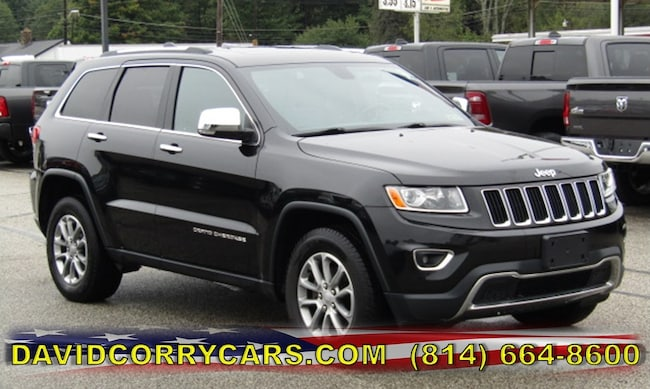 certified 2015 Jeep Grand Cherokee Limited 4WD  Limited for sale in Corry, PA at DAVID Corry Chrysler Dodge Jeep Ram