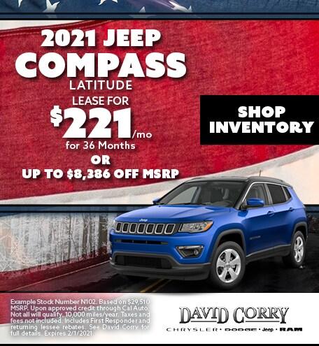 2021 Jeep Compass Latitude January