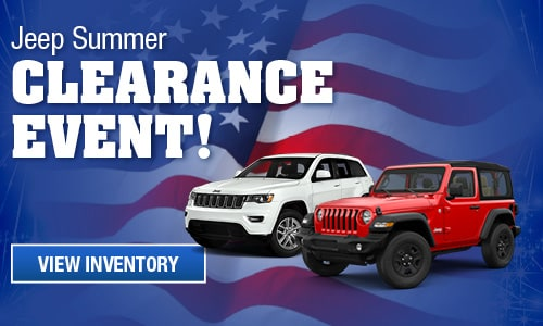 Jeep Summer Clearance