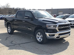 2019 Ram 1500 BIG HORN / LONE STAR CREW CAB 4X4 5'7 BOX Crew Cab 1C6SRFFT9KN766003 for sale in Corry, PA.