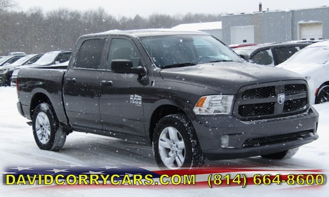 New 2019 Ram 1500 CLASSIC EXPRESS CREW CAB 4X4 5'7 BOX Crew Cab for sale in Corry, PA at DAVID Corry Chrysler Dodge Jeep Ram
