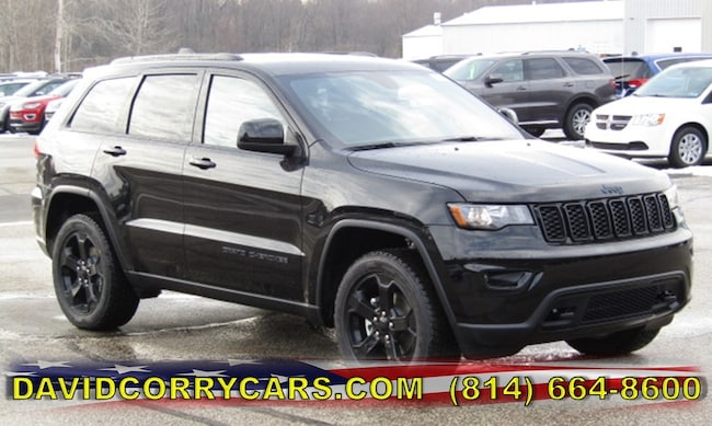 New 2019 Jeep Grand Cherokee UPLAND 4X4 Sport Utility for sale in Corry, PA at DAVID Corry Chrysler Dodge Jeep Ram