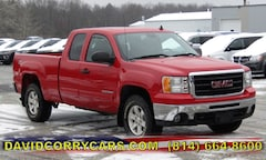 2011 GMC Sierra 1500 SLE 4WD Ext Cab 143.5 SLE 1GTR2VE39BZ437723 for sale in Corry, PA at DAVID Corry Chrysler Dodge Jeep Ram