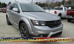 2018 Dodge Journey CROSSROAD AWD Sport Utility for sale in Corry, PA at DAVID Corry Chrysler Dodge Jeep Ram