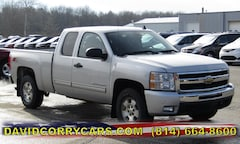 2011 Chevrolet Silverado 1500 LT 4WD Ext Cab 143.5 LT 1GCRKSE32BZ416212 for sale in Corry, PA at DAVID Corry Chrysler Dodge Jeep Ram