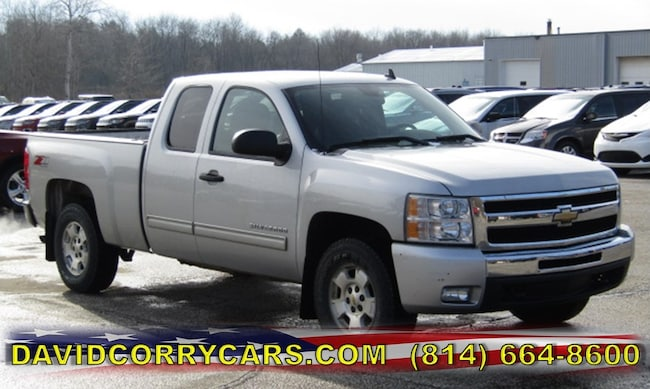 Used 2011 Chevrolet Silverado 1500 LT 4WD Ext Cab 143.5 LT for sale in Corry, PA at DAVID Corry Chrysler Dodge Jeep Ram