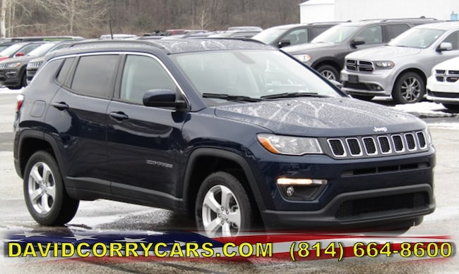 New 2019 Jeep Compass LATITUDE 4X4 Sport Utility for sale in Corry, PA at DAVID Corry Chrysler Dodge Jeep Ram