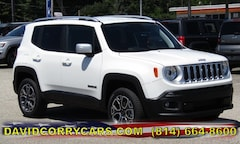 2018 Jeep Renegade LIMITED 4X4 Sport Utility for sale in Corry, PA at DAVID Corry Chrysler Dodge Jeep Ram