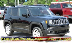 2018 Jeep Renegade LATITUDE 4X4 Sport Utility ZACCJBBB3JPH40819 for sale in Corry, PA at David Corry CDJR