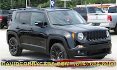 2018 Jeep Renegade ALTITUDE 4X4 Sport Utility for sale in Corry, PA at DAVID Corry Chrysler Dodge Jeep Ram