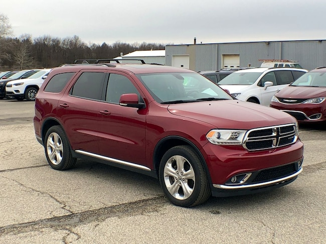 Used 2015 Dodge Durango Limited SUV for sale in Corry, PA at DAVID Corry Chrysler Dodge Jeep Ram