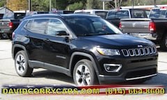2019 Jeep Compass LIMITED 4X4 Sport Utility for sale in Corry, PA at DAVID Corry Chrysler Dodge Jeep Ram