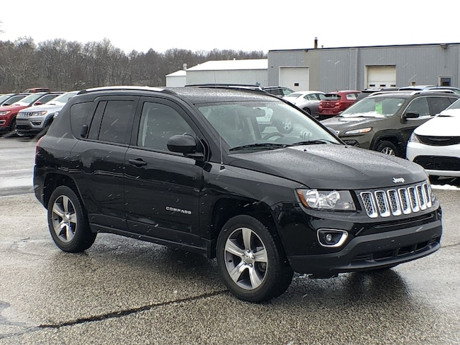 Used 2016 Jeep Compass High Altitude Edition SUV for sale in Corry, PA at DAVID Corry Chrysler Dodge Jeep Ram