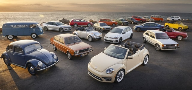 70 Years of Volkswagen