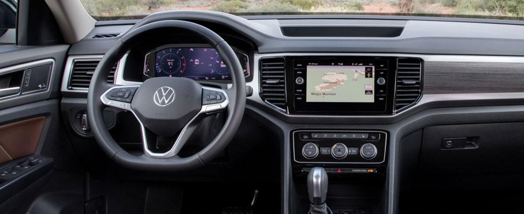 2021 Volkswagen Atlas SEL Infotainment System