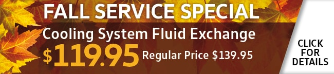 Cooling System Fluid Exchange Coupon, Orlando, FL