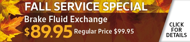 Brake Fluid Exchange Coupon, Orlando, FL