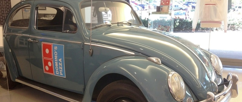 The Domino's Pizza Beetle | David Maus Volkswagen South