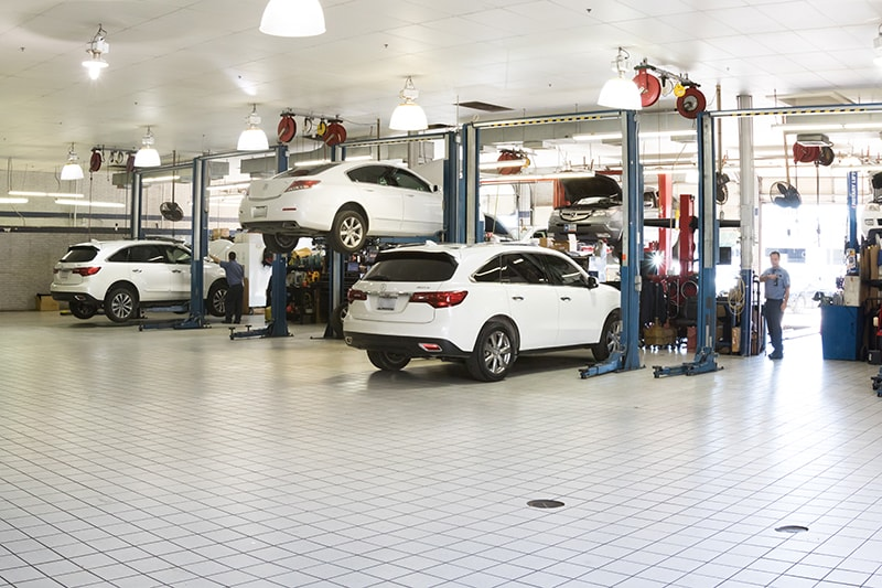 David McDavid Acura in Plano - Service Shop