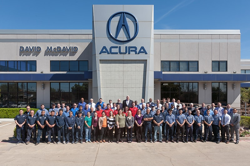 David McDavid Acura in Plano - The Team