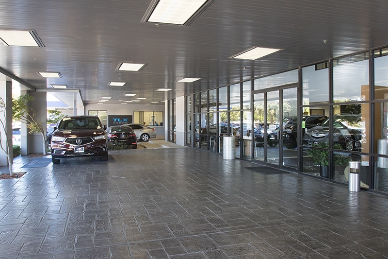 David McDavid Acura in Plano - Exterior Showroom