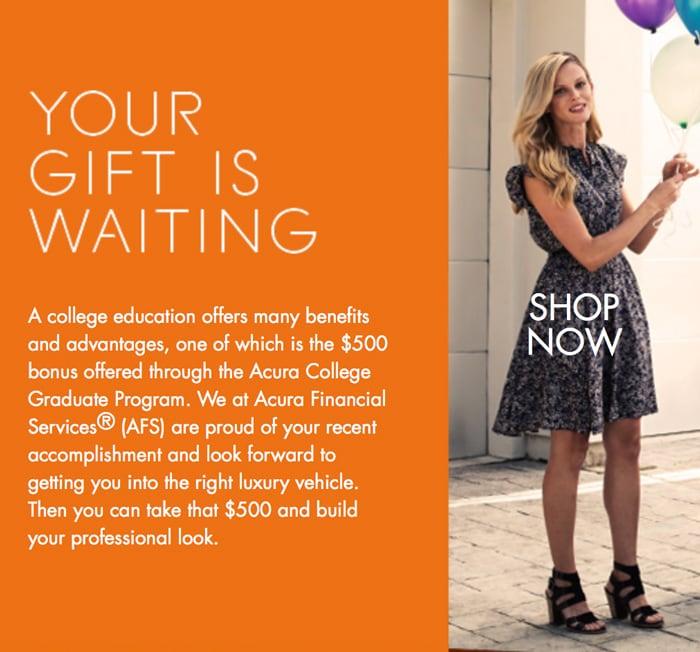 Acura Austin College Graduate Program