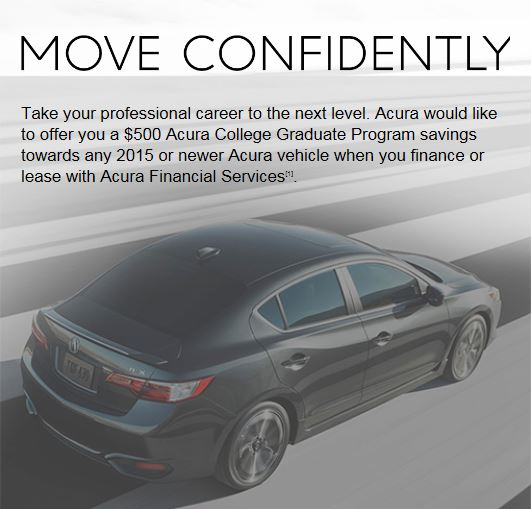 Acura Austin College Graduate Program